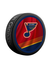 St. Louis Blues Nhl Reverse Retro Dual Logo Souvenir Hockey Puck