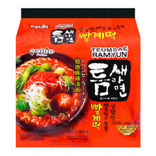 Paldo Teumsae Ramyun instantané Pâtes Soupe Riche chaud & épicé 5x120g