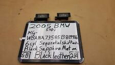 2002-2007 BMW 530i E60 LICENSE PLATE LIGHT REGISTRATION PLATE LAMP OEM