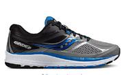 Saucony Men's Guide 10 Running Shoes Grey Black Blue S20350-1 NIB