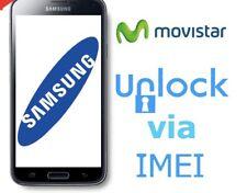 Liberar Samsung Movistar España Unlock Todos Los Modelo