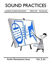 SOUND PRACTICES MAGAZINE -- 12 PAPER ISSUES -- VERY LIMITED NOS VINTAGE STOCK!