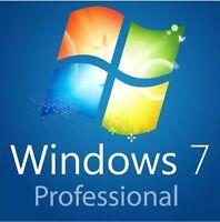 Windows 7 Professional 64 Bit Deutsch VOLLVERSION Win 7 Pro Key Lizenz COA+DVD