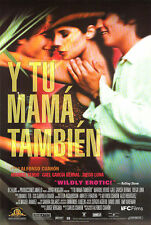 Y Tu Mama Tambien Unrated Version Original Video Release Poster 27x40 New 2001