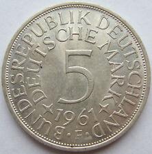 TOP! 5 DM 1961 F in VORZÜGLICH+++ !!!
