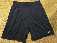 C9 by Champion DUODRY Men's NAVY BLUE SHORTS size L Poly/Spandex VENT HOLES D99