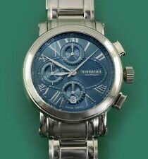 TOURNEAU Haute Horlogerie Automatic CONTEMPORARY  Chronograph Stainless Band $4K