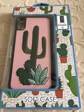 Embroidered Cactus Iphone 8 Soft Case. New