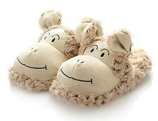 HanSen Ovis Plüsch Schaf Hausschuhe Damen Tierschuhe Größe 39 braun Lamm weich