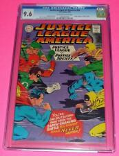 1967 JUSTICE LEAGUE OF AMERICA #56 CGC 9.6 OW-White NM+ vs JSA Society Wildcat