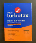 Intuit TurboTax Home and Business Federal E-File + State 2020 - PC CD WINDOWS MAC