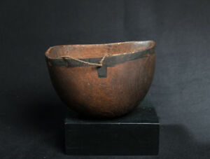 Maasai Domestic Bowl, British East Africa, African Tribal Arts