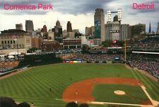 Comerica Park Home of the MLB Detroit Tigers Baseball Stadium Michigan, Postcard