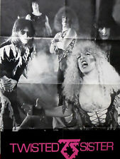 TWISTED SISTER - AFFICHE / POSTER