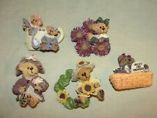 Boyd's Bears - Lot of 5 Pins - Spring & Summer - See Photos - Mint - Z568