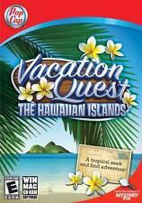 Brand New Pop Cap Games Vacation Quest: The HawaIIan Islands for Windows/Mac