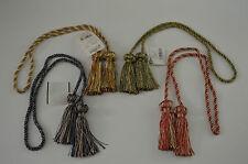 "Curtain & Chair Tie Back - 27""spread w/ 3"" tassels - 7 colors ways!!!"