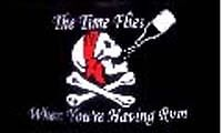 Pirate  RV NASCAR Toy Box Camping Trailer  flag #R-0026