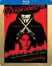 V For Vendetta (Blu-ray Disc, 2012, Steelbook)