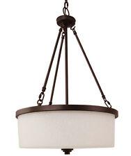 Ceiling Hanging TAOS Pendant Chandelier 1 Light Lighting Fixture White Scavo