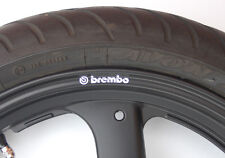 x8 BREMBO WHEEL RIM DECALS ducati monster cagiva 125