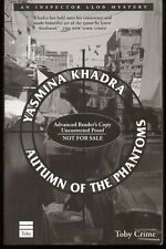 Yasmina Khadra AUTUMN OF THE PHANTOMS mystery uncorrected proof from Toby Crime