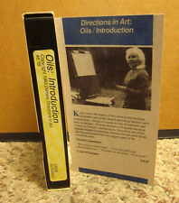 OIL PAINTING DIRECTIONS art Introduction VHS Dolores Demers instructional video