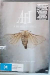 AFI - I Heard A Voice DVD LIVE From Long Beach Arena - R0 all regions