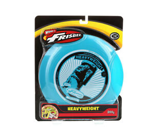 Wham-O Heavyweight 200 Grams High Wind Frisbee - Colors May Vary Flying Gliding