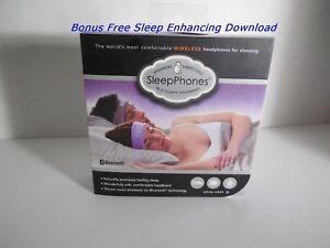 New SleepPhones® Wireless Bluetooth® Wireless Headphones Wild Orchid Size Medium