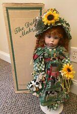 "1987 Dianna Effner Ultimate Collection 24"" Mindy Porcelain Doll Marked #48/1500"