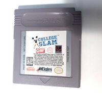 College Slam ORIGINAL NINTENDO GAMEBOY GAME Tested WORKING Authentic!