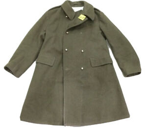British Military Olive  Army Wool Coat, Man's Mounted Regiments Used #1320