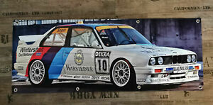 Werbe Banner für BMW Fans / E30 Warsteiner M3 16V DTM