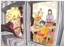Poster A3 Boruto Next Generations Uzumaki Naruto Boruto Hinata Himawari 03