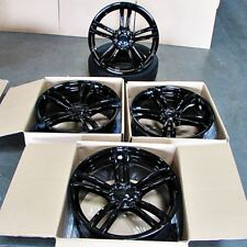 Fits BMW 3 4 5 6 Series M3 M4 M5 M6 19 inch 437 Style Wheels Gloss Black