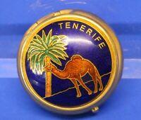 Pill /trinket box, Pill /trinket box, Tenerife souvenir *[19741]