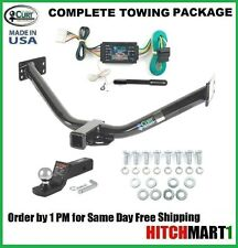 """CLASS 3, CURT TRAILER HITCH PACKAGE FOR 2007-2013 ACURA MDX,   2"""" TOW RECEIVER"""