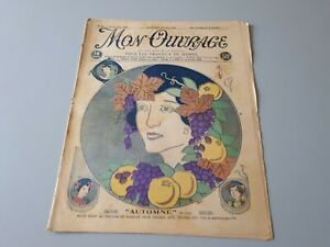 Revue ancienne broderie Mon Ouvrage 1926 N° 88