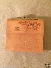 Vintage New NOS Princess Gardner Womens Cherry Blossom Leather Clutch Wallet