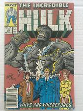 The Incredible Hulk 346 (1988) Marvel Comics (last Todd McFarlane art)