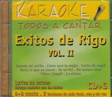 Rigo Tovar Karaoke Todos a Cantar Vol 2 Karaoake Todos a Cantar