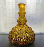 Tiara Indiana Glass Amber Sandwich Wine Decanter Without Stopper