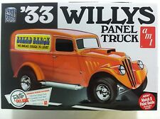Amt '33 Willys Panel Truck 1/25 Scale Plastic Model Kit - Amt879