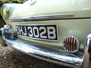 """4"""" Spot Light Amber with 356 grille light sign for Porsche VW Hotrod Ford AAC212"""