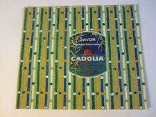 Old Vintage 1930's - French Soap Label - Savon CADOLIA - PARIS