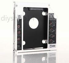 2nd SATA HDD SSD Hard Drive Caddy Adapter for ASUS N61 N53S K50 K53e U30Jc G73Jh