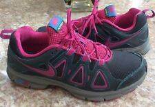Nike Air Alvord 10 Women's Pink Black Gray Running Shoes Size 10 #512038-005