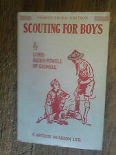 Scouting for boys by Lord Baden-Powell of Gilwell / scout