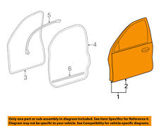 FORD OEM Front Door-Door Shell Left 1F1Z5420125AA